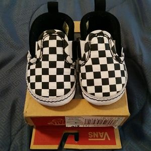 Infants slide on Vans